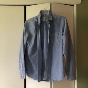 J. Crew Light Blue Button Down Shirt
